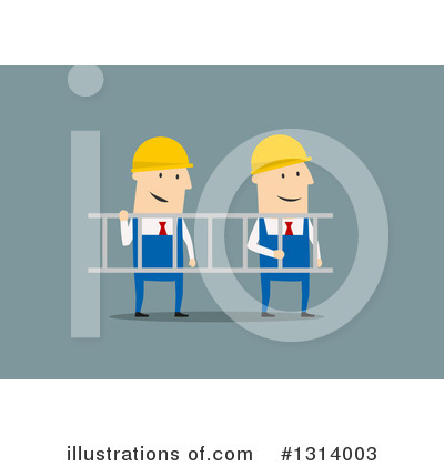 Builder Clipart #1314003 by Vector Tradition SM