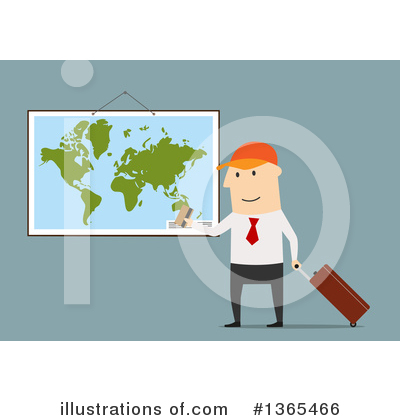 Map Clipart #1365466 by Vector Tradition SM