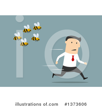 Bee Clipart #1373606 by Vector Tradition SM