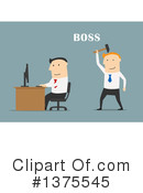 White Businessman Clipart #1375545 by Vector Tradition SM