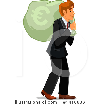 Wealthy Clipart #1416836 by Vector Tradition SM