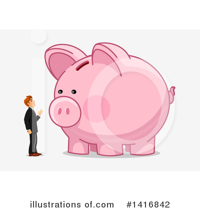 Investing Clipart #1416842 by Vector Tradition SM