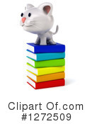 White Cat Clipart #1272509 by Julos