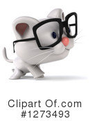 White Cat Clipart #1273493 by Julos