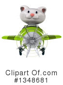 White Cat Clipart #1348681 by Julos