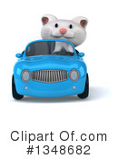 White Cat Clipart #1348682 by Julos