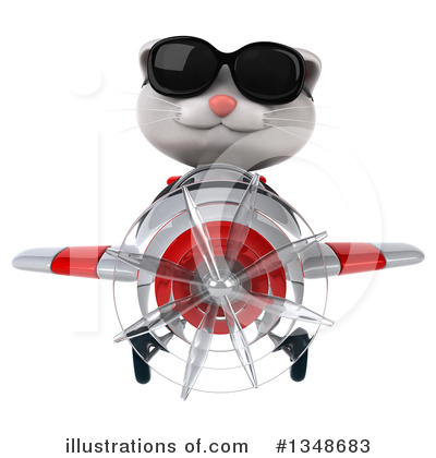 White Cat Clipart #1348683 by Julos