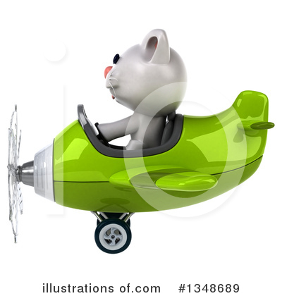 White Cat Clipart #1348689 by Julos