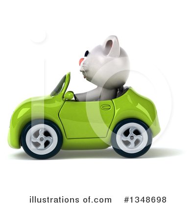 White Cat Clipart #1348698 by Julos