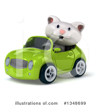 White Cat Clipart #1348699 by Julos