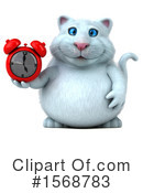 White Cat Clipart #1568783 by Julos
