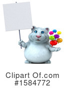 White Cat Clipart #1584772 by Julos