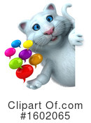 White Cat Clipart #1602065 by Julos