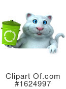 White Cat Clipart #1624997 by Julos