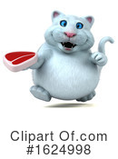 White Cat Clipart #1624998 by Julos