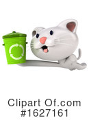 White Cat Clipart #1627161 by Julos