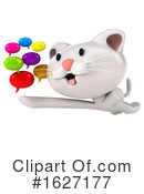 White Cat Clipart #1627177 by Julos