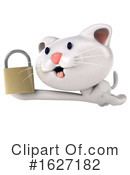 White Cat Clipart #1627182 by Julos