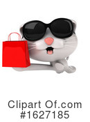 White Cat Clipart #1627185 by Julos