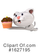 White Cat Clipart #1627195 by Julos