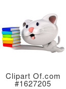 White Cat Clipart #1627205 by Julos