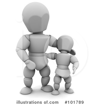 3d People Clipart #101789 by KJ Pargeter
