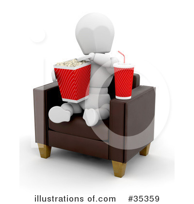 Directors Chair Clipart #35359 by KJ Pargeter