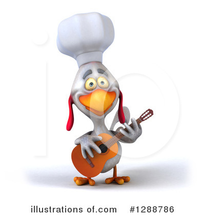 Chef Chicken Clipart #1288786 by Julos