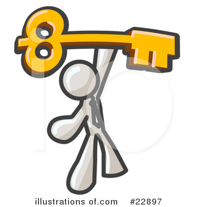 Skeleton Keys Clipart #22897 by Leo Blanchette