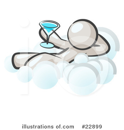 Martini Clipart #22899 by Leo Blanchette