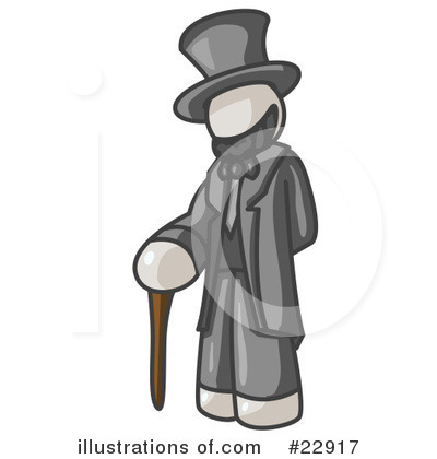 Abraham Lincoln Clipart #22917 by Leo Blanchette