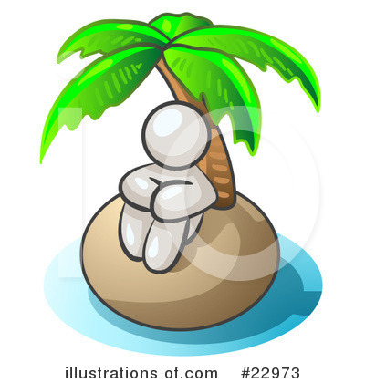 Royalty-Free (RF) White Collection Clipart Illustration by Leo Blanchette - Stock Sample #22973