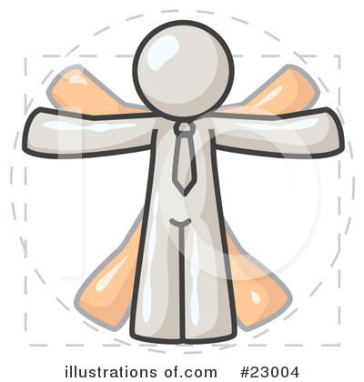White Collection Clipart #23004 by Leo Blanchette