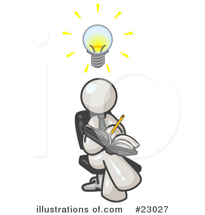 White Collection Clipart #23027 by Leo Blanchette