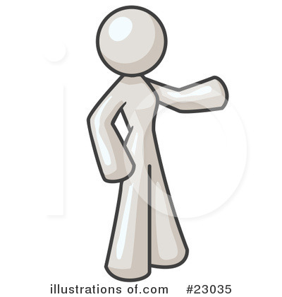 Royalty-Free (RF) White Collection Clipart Illustration by Leo Blanchette - Stock Sample #23035