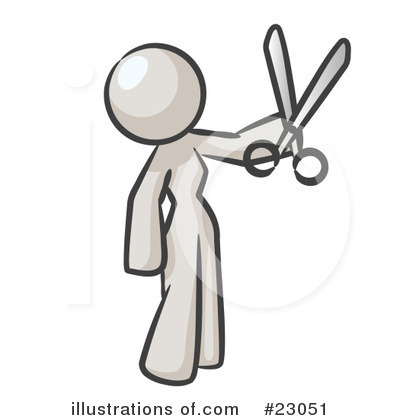 Hair Dresser Clipart #23051 by Leo Blanchette