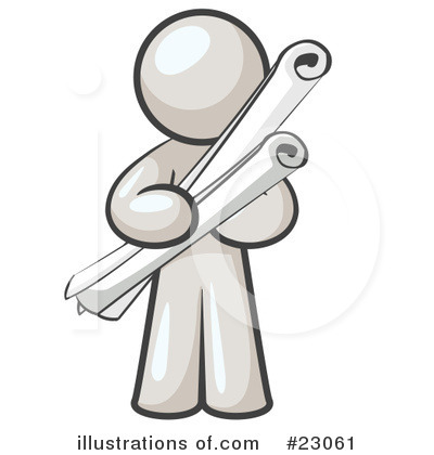 White Collection Clipart #23061 by Leo Blanchette