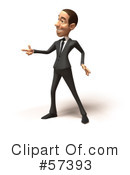 White Corporate Businessman Character Clipart #57393 by Julos