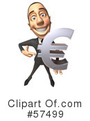 Royalty-Free (RF) white corporate businessman character Clipart Illustration #57499
