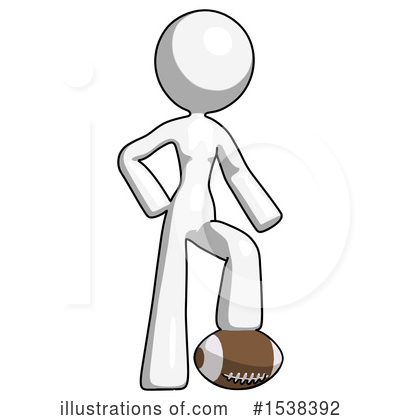 Royalty-Free (RF) White Design Mascot Clipart Illustration by Leo Blanchette - Stock Sample #1538392
