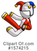 White Design Mascot Clipart #1574215 by Leo Blanchette