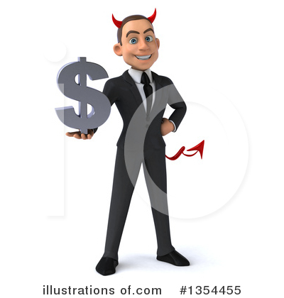 Young White Businessman Clipart #1354455 by Julos