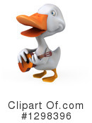 White Duck Clipart #1298396 by Julos