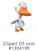 White Duck Clipart #1304195 by Julos