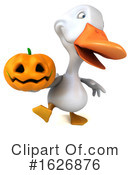 White Duck Clipart #1626876 by Julos