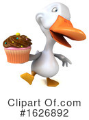 White Duck Clipart #1626892 by Julos