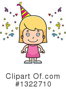 White Girl Clipart #1322710 by Cory Thoman