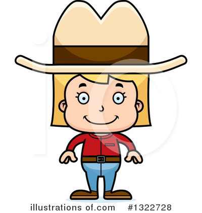 Cowgirl Clipart #1322728 by Cory Thoman