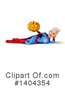 White Haired Female Super Hero Clipart #1404354 by Julos