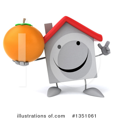 White House Clipart #1351061 by Julos